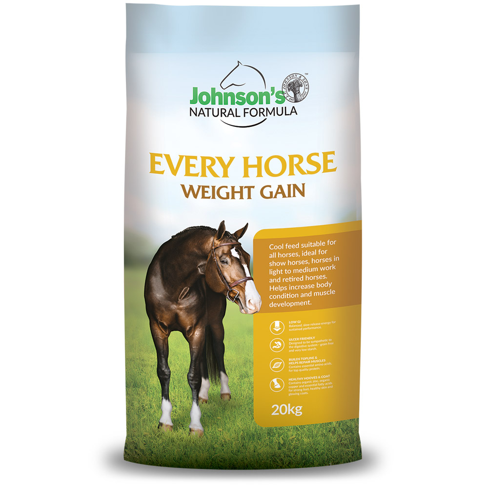 Every Horse Weight Gain - Johnson's Natural Formula