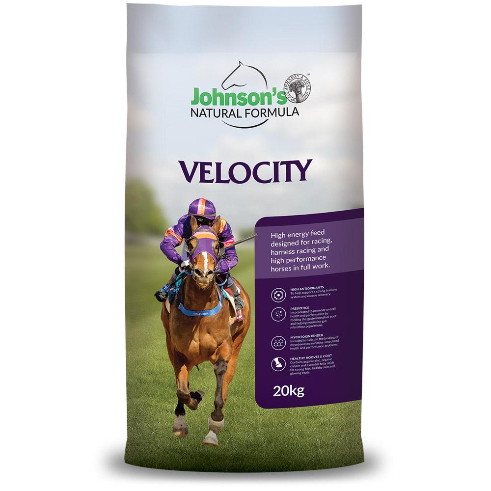Velocity - Johnson's Natural Formula